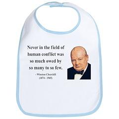Winston Churchill 12 Bib