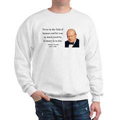 Winston Churchill 12 Sweatshirt