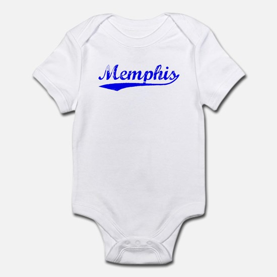 Vintage Memphis (Blue) Infant Bodysuit