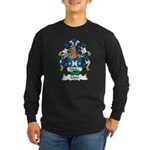 Loper Family Crest Long Sleeve Dark T-Shirt