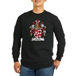 Lonner Family Crest Long Sleeve Dark T-Shirt