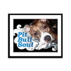 Pit Bull Soul-Pt.4 Framed Panel Print