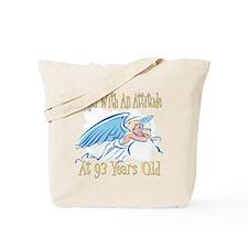 Angel Attitude 93rd Tote Bag
