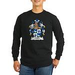 Loffler Family Crest Long Sleeve Dark T-Shirt