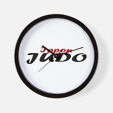 Ippon Judo Wall Clock