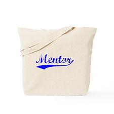 Vintage Mentor (Blue) Tote Bag