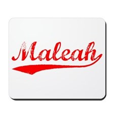 Vintage Maleah (Red) Mousepad