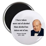 """Winston Churchill 14 2.25"""" Magnet (100 pack)"""