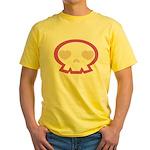 Love Skull Yellow T-Shirt