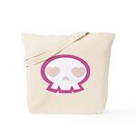 Love Skull Tote Bag