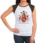 Lobeck Family Crest Women's Cap Sleeve T-Shirt
