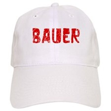 Bauer Faded (Red) Baseball Cap