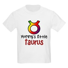 Mommy's Little Taurus Kids Light T-Shirt