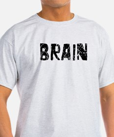Brain Faded (Black) T-Shirt