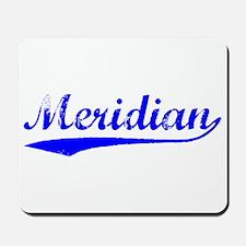 Vintage Meridian (Blue) Mousepad