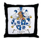 Lippert Family Crest Throw Pillow