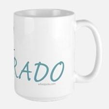 Bike Colorado Large Mug