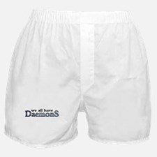 We All Have Daemons Boxer Shorts