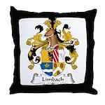 Limbach Family Crest Throw Pillow