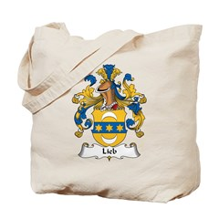 Lieb Family Crest Tote Bag