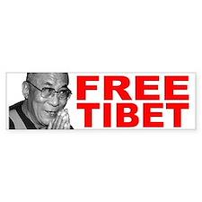 Free Tibet Bumper Bumper Sticker