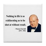 Winston Churchill 16 Tile Coaster
