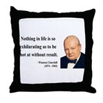 Winston Churchill 16 Throw Pillow