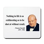 Winston Churchill 16 Mousepad
