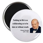 "Winston Churchill 16 2.25"" Magnet (100 pack)"