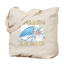 Angel Attitude 86th Tote Bag