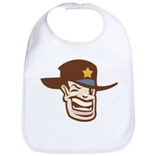 Cowboy Sheriff Bib