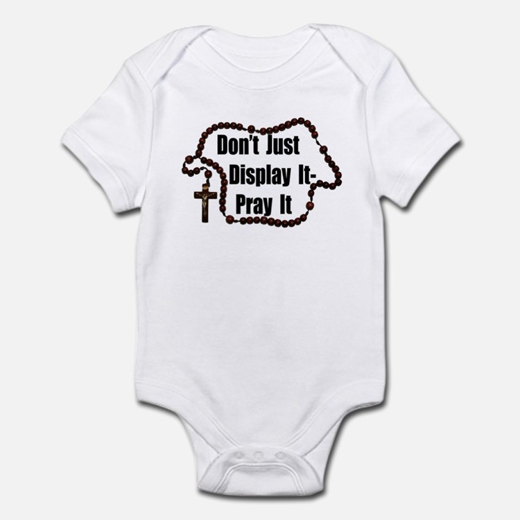 Cute Catholic youth Infant Bodysuit