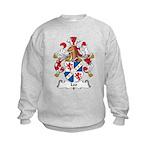 Leo Family Crest Kids Sweatshirt