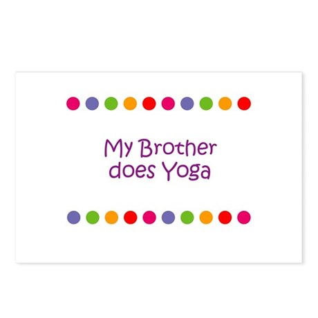 My Brother does Yoga Postcards (Package of 8)