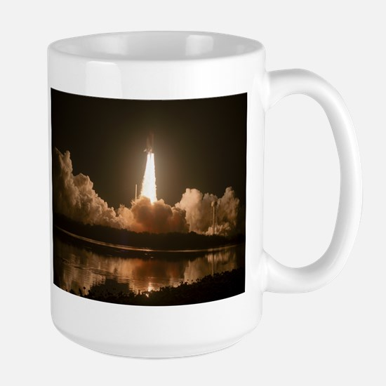 STS-123 Space Shuttle Endeavour Large Mug