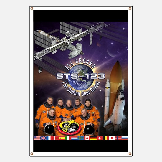 STS-123 Endeavour - The Station Goes Global!