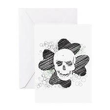 Dead Lucky Greeting Card