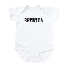Brenton Faded (Black) Infant Bodysuit