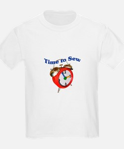 Time to Sew - Clock T-Shirt