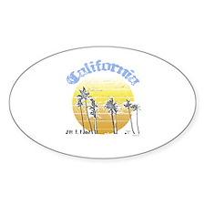 California Sun ~ Oval Decal