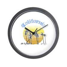 California Sun ~  Wall Clock
