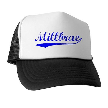 Vintage Millbrae (Blue) Trucker Hat