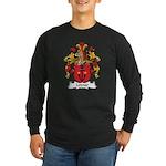 Leimer Family Crest Long Sleeve Dark T-Shirt