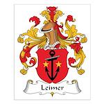 Leimer Family Crest Small Poster