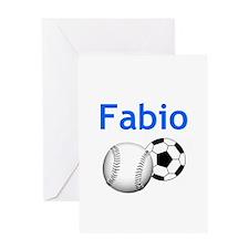 Fabio Greeting Card