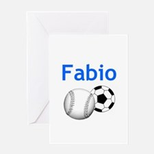 Fabio Greeting Card