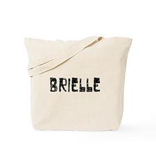 Brielle Faded (Black) Tote Bag