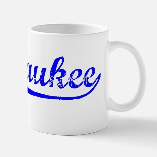 Vintage Milwaukee (Blue) Mug