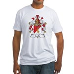 Laube Family Crest Fitted T-Shirt