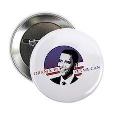 """Obama - 2.25"""" Button"""